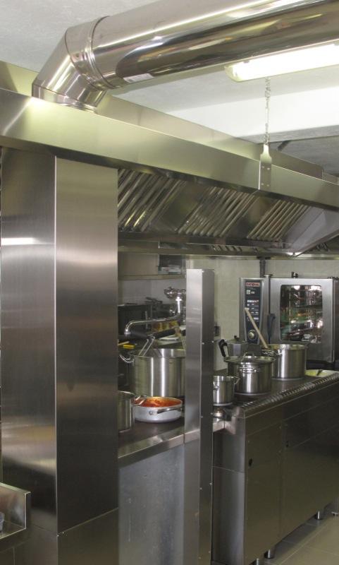Mense e asili carloangela arredamenti professionali - Norme igienico sanitarie per le cucine di ristoranti ...