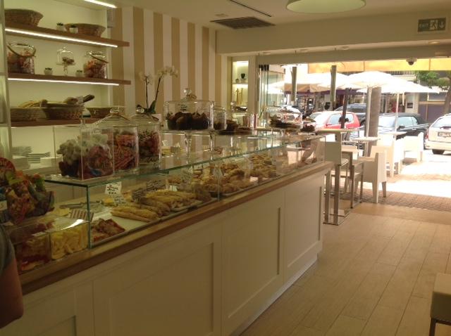 Preferenza Caffetteria – bar – Mentone – Costa Azzurra (Francia  WC19